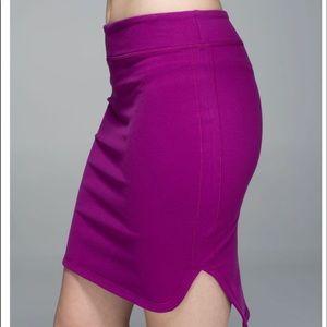 Lululemon City Skirt in Regal Plum Size 8